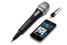IK Multimedia iRig Mic Microphone for iPhone iPad and Android New