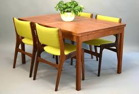 Pull Out Dining Room Table Danish Teak By With