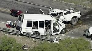 13 Killed, 2 Hurt When Church Bus And Truck Crash In Texas