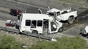 13 Killed, 2 Hurt When Church Bus And Truck Crash In Texas