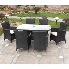 Semi Circle Outdoor Patio Furniture by Simple Rattan 6 Seater Garden Furniture How To Care Rattan 6