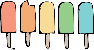 Popsicle clipart black and white 2