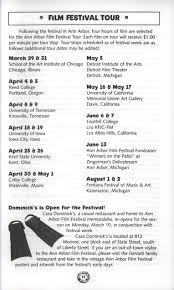 Littlefield Patio Cafe Ut Hours by 35th Ann Arbor Film Festival Program Ann Arbor Film Festival Archive