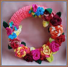 36 best Crocheted wreath images on Pinterest