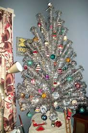 Amazing Vintage Christmas Tree Aluminum Trees Retro Renovation Etsy Skirt