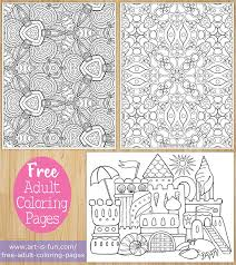 Free Adult Coloring Pages To Download And Print By Thaneeya Mcardle