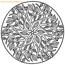 Dessin De Coloriage Mandalas Difficile à Imprimer CP17168