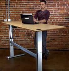 communal standing desk new office pinterest desks desk