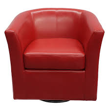 Blankenship Faux Leather Swivel Club Chair | Products ... Mid Century Style Swivel Accent Chair In Premium Red Leather Corliving Modern Bonded Circular En Detalles Acerca De Coaster Company Vinyl 39 Of Our Favorite Chairs Under 500 Rules To Fniture Capvating Barrel Applied To Your The 10 Best Reading Buy 2019 Gear Patrol Chair Magnificent Outlaw Oversized With Hayden By New Adorable Burgundy Velvet Green Gray Half Gold
