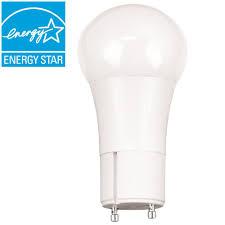 ecosmart 60 watt equivalent a19 gu24 dimmable led light bulb soft