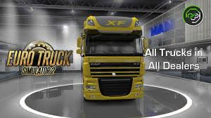 100 Truck Dealers Euro Simulator 2 V128 All S In All YouTube