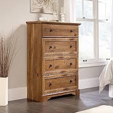 Sauder Shoal Creek Dresser Soft White by Sauder Shoal Creek 4 Drawer Oiled Oak Chest 410288 The Home Depot