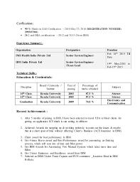 Resume Sas Programmer 3 Years Exp Rh Slideshare Net Sample For Experience Ses