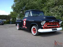 1957 Chevy Stepside Chevrolet 3100 Pickup Truck