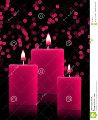 bougies allumées de noël image stock image du milieux 6910141