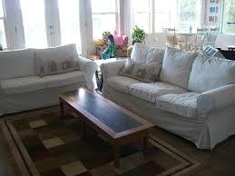 home kids life white sofas children ikea ektorp sofa review