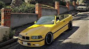 BMW E36 328i M Sport Cabrio [Replace] GTA5 Mods
