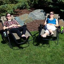 Sunnydaze Outdoor XL Zero Gravity Lounge Chair With Pillow And Cup Holder,  Folding Patio Lawn Recliner, Brown, Set Of 2 Phi Villa Outdoor Patio Metal Adjustable Relaxing Recliner Lounge Chair With Cushion Best Value Wicker Recliners The Choice Products Foldable Zero Gravity Rocking Wheadrest Pillow Black Wooden Recling Beach Pool Sun Lounger Buy Loungerwooden Chairwooden Product On Details About 2pc Folding Chairs Yard Khaki Goplus Wutility Tray Beige Headrest Freeport Park Southwold Chaise Yardeen 2 Pack Poolside