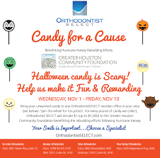 Donate Leftover Halloween Candy by Frisco Orthodontists Join To Make An Impact With Candy For A Cause