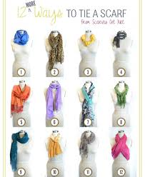 how to tie a scarf i want to wear them but feel awkward when i