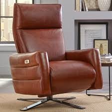 Natuzzi Brown Leather Swivel Chair by Natuzzi Editions Sofia Power Recliner C S Wo U0026 Sons California
