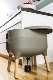 kompostbehälter wurmkomposter urbalive küche wohnung wurm