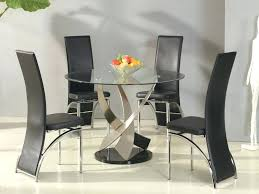 dining table glass dining room table for 6 chair contemporary