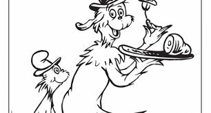 Dr Seuss Coloring Pages Green Eggs And Ham Intended To Invigorate In Images