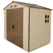 Keter Stronghold Shed Assembly by Duramax Building Products Store All 8 Ft X 6 Ft Vinyl Storage