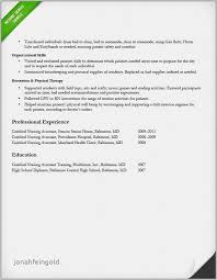 Cna Experience New Hospital Resume Examples Rn Bsn 2018