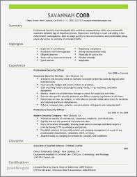 Nypd Police Officer Resume Examples Luxury 38 New Ficer