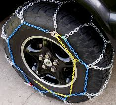 Truck Tire Chains: Grip 4x4