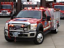 100 Ford Fire Truck F550 Super Duty Crew Cab Truck By Warner 2010pr