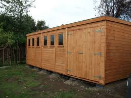 Cheap Shed Roof Ideas by Garden Sheds London Interior Design