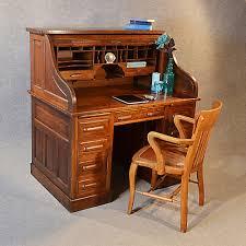 oak writing bureau uk antique roll top writing bureau desk oak edwardian globe wernicke