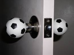 Soccer Themed Bedroom Photography by Soccer Ball Door Knobs Facebook Facebook Com Floridayouthsoccer