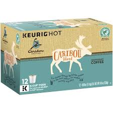 Caribou Coffee Blend Medium Roast K Cups