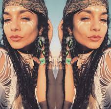 Cultural Appropriation Halloween by Fans Are Debating If Vanessa Hudgens U0027 Face Paint Is Cultural