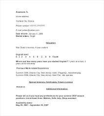 Resume For Housekeeper Housekeeping Samples Database Template Nanny Job Description Cv Uk