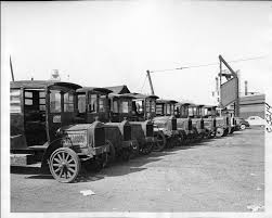 100 Packard Trucks 192123 Trucks For Traffic Division Parked In Yard