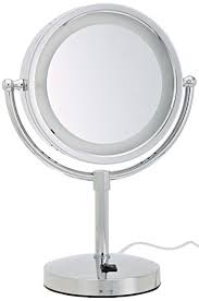 amazon com jerdon hl745co 8 5 inch halo lighted vanity mirror