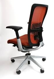 Haworth Zody Chair Manual by Haworth Zody Chair Mesh Back Fully Adjustable Model In Orange