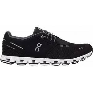 on Men's Cloud Running Shoes - Black/White - 11