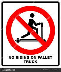 Riding On Pallet Trucks Is Forbidden Symbol. Occupational Safety And ... Two Blank Highway Signs Overhead Trucks On Road Transport Concept Fork Lift Operating No Pedestrians Signs From Key Uk Sound Horn Calgary Car Door Magnets Truck Van Magnetic Orange County Company Logo For Trucks With A Driving Cab Manufacture Stock Health Safety De Riding On Forklift Is Forbidden Symbol Occupational Caution Sign 200 X 300mm Rigid Signage Bandit Auto Tyres Fork Lift Operating Sticker And