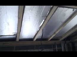 Vaulted Ceiling Joist Hangers by Insulation Inbetween Joists On A Vaulted Ceiling Youtube