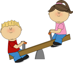 Congratulations To Phoebe L On Being Rehired Is Your Off Balance Relationship Clipart Seesaw