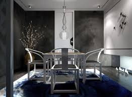 Dining Room Lights Chic Drum Shade Hanging Lamp Black Wooden Folding Table Caged Pendant Light Fixtures