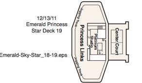 Grand Princess Deck Plan by Emerald Princess Princess Cruises Cruisedeals Co Uk