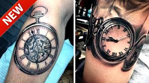 Popular Tattoos For 2016 200 Pocket Watch Tattoo Amp Meanings 1 Part Youtube