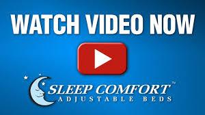 sleep comfort adjustable bed technology defined youtube